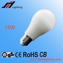 CE ROHS Factory sale A60 15W E27 LED BULB LIGHT