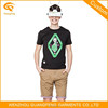 Popular Model Comfortable T Shirts For Men V Neck Good Quality OEM Service