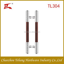 high quality stainless steel glass door handles