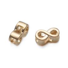 New Arrival 10mm Matte Gold Plated Various Symbols Fittings Bracelet Alphabet Charm Jewelry Pendant