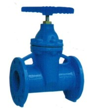 DIN 3352 F5 Non rising stem resilient soft seated gate valve (ductile iron)