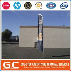 Iso9001 With Cheap Price Custom Print Beach Flags Advertisement