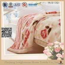 Manufactory wholesale home designs home textile fleece blanket wholesale branded blanket