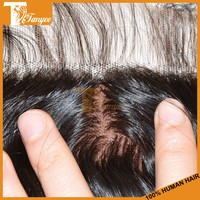 Big promotion 1pc 12inches virgin mongolian loose wave hair silk base lace closure