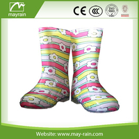 2015 best selling Cheap Fashion Rain Boots for Kids