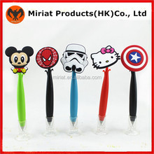 Hot selling cheap promotional plastic ball pen education toy