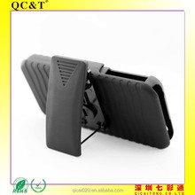 2 in 1 Belt Clip Detachable Holster Combo PC Hard Case For Apple iPhone 5 g