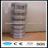 High strength hot-dipped galvanized cattle fence/sheep and goat fence