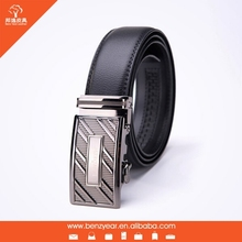 factory wholesale genuine leather 44 inches automatic buckle custom personalized belt buckles for men