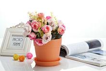Garden plastic iron flower pot holder