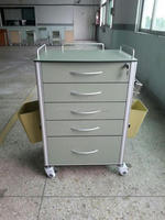 Quality Cheapest Hospital fan shaped instrument trolley