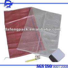 polypropylene woven potato net bag packing packaging made in China pp woven factory