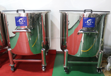 stainless steel ethanol storage tank top type, convenient movable