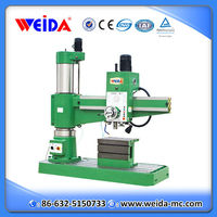 Weida hand drilling machine specifications Z3050x16/1, radial drilling machine