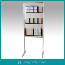 Document shelf magazine shelf /magazine rack