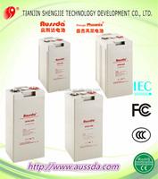 Aussda V long life rechargeable acid battery energy solar storage systems