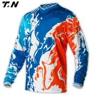 men's sublimation unique style motocross jersey/motorcycle jersey