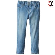 2015 little girls denim jeggings wholesale children clothing brands, baby girls jeans brand name JXQ1203