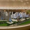 Modelo arquitetônico para a malásia