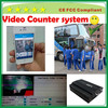 School bus 4ch mobile dvr HDD, MDVR with couter system bus