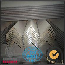 Astm JIS GB acero al carbono galvanizado ángulo de acero / de hierro ángulo de acero en conjunto