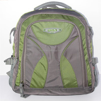 Wholesale cheap fashion polyester mesh backpack/plain color backpack