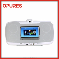 2015 Special Mini Multimedia Karaoke Speaker with Android OS Wireless USB SD Screen