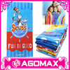 Business gift colorful custom microfiber printed bath towel
