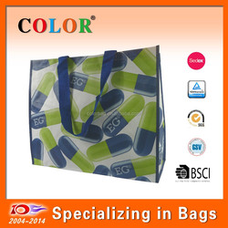 2015 hot sale high quality woven promotion bag non woven foldable bag and factory direct in WenZhou