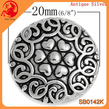 Simple Stainless Steel Bracelet Button,Cheap Custom Metal Button Yiwu Xiaoteng Snap Jewelry,Quality Metal Snap Button In Stock