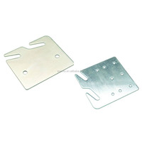 Furniture Hardware Accessory - Bed Rail Slot bracket, fits into bed post slot or bracket