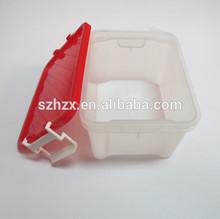 pp de plástico tipo de plástico y material de gran tamaño de plástico de almacenamiento de alimentos contenedores