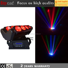 Rotation Spider Led Light 8*10W 4in1 Moving Head Stage Effect