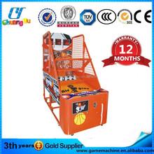 CY-BM06 basketball shooting machine for sale basketball amusement machine arcade basketball game