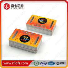 Printing color card / RFID Custom Cards