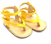 china yellow jelly shoes
