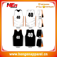 Polyester Basketball Uniform, Custom Made Basketball Top For All Over Sublimation