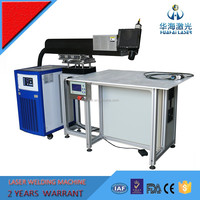 Huahai laser YAG metal stainless steel aluminum channel letter laser welding machine price for sale with good quality