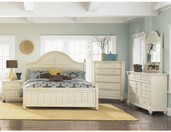 Beautiful White Finish Bedroom Set Buy Bedroom Set Product On