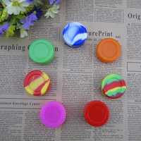 High quality customized Non-stick butane hash oil silicone container 38mm