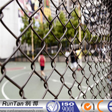 10 years experience chain link fence basketball court fence