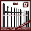 Pvc iron fence pickets /plastic Fences