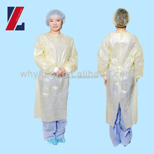 Nonwoven Isolation Gowns Disposable Hospital Clothing