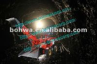 mini articulated wheel rock loader for underground mininig in tunnels