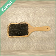 Natural wooden brush for hair bulk hair brushes for black men