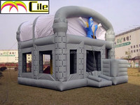 CILE 2015 OEM Good Quality Halloween Inflatable Ghost Jumping Castle House for Children Game