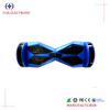 CE approval 8 inch 2 wheel self balancing electric scooter with led flashing light and bluetooth