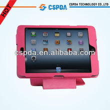 For Apple iPad Mini 360 Degree Rotating Pink PU Leather Case Cover