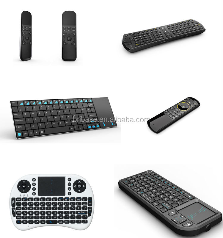 2.4G wireless Air mouse keyboard for Android TV BOX Mini pc