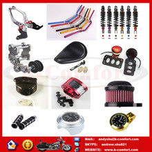 Newest china factory head light motorcycle parts for suzuki gs125 with high quality for sale